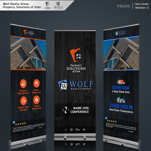 Banners design for Property Company