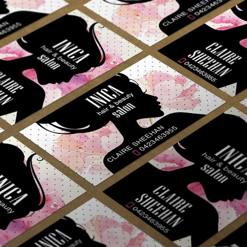 INICA Salon business card