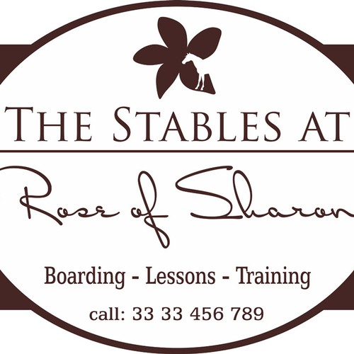 Create the next signage for The Stables at Rose of Sharon