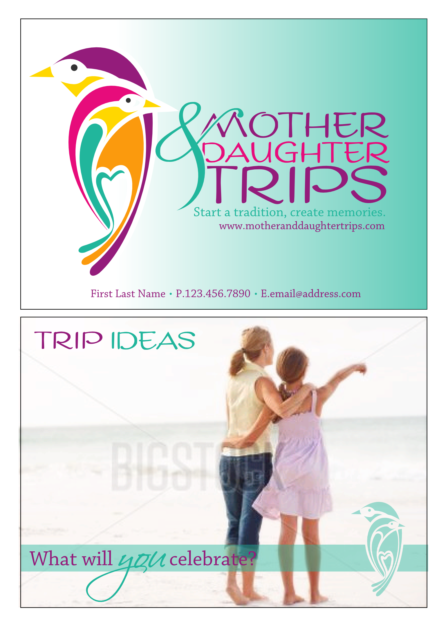 logo for Mother & Daughter Trips