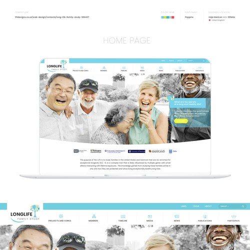 Webdesign for Medical & Pharmaceutical Company