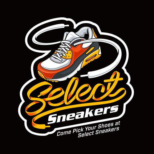 Logo design for Sneaker store