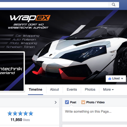 Facebook Cover for Sports Store