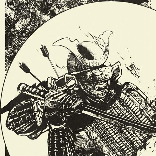 Battlefield devil - Samurai Illustration