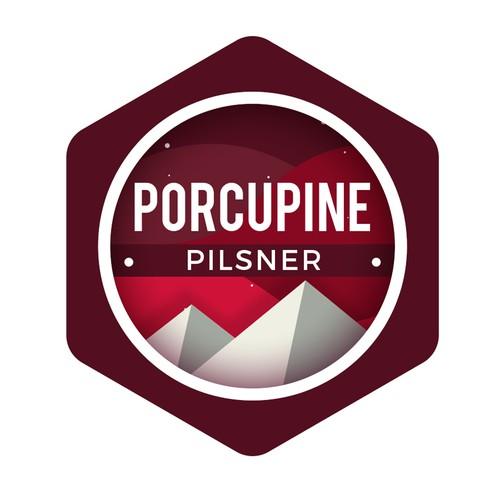 Logo for Porcupine Pilsner