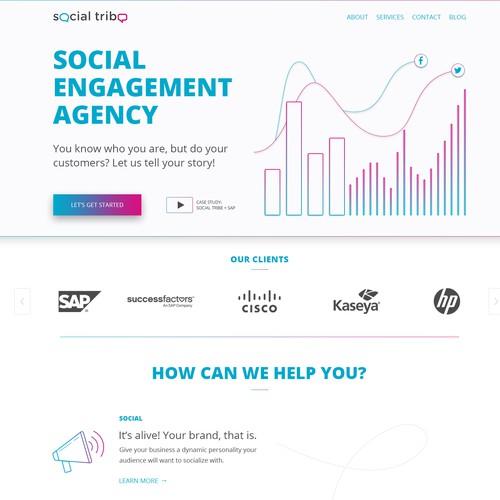 Social Tribe - Website Redesign