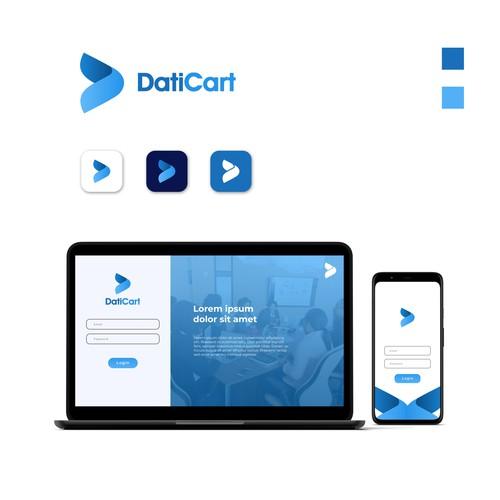 Modern logo for e-commerce