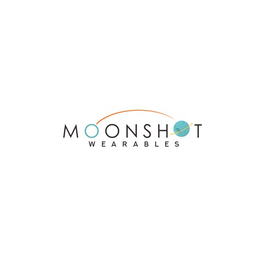 clean logo for MOONSHOT wearables