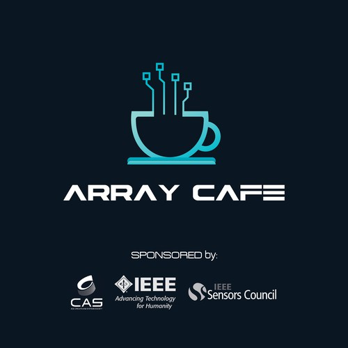 Podcast logo for new podcast, Array Cafe