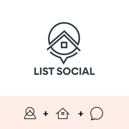 Feminime Logo For Lists Social