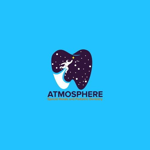 Logo concept for Atmosphere Special Needs and Pediatric Dentistry