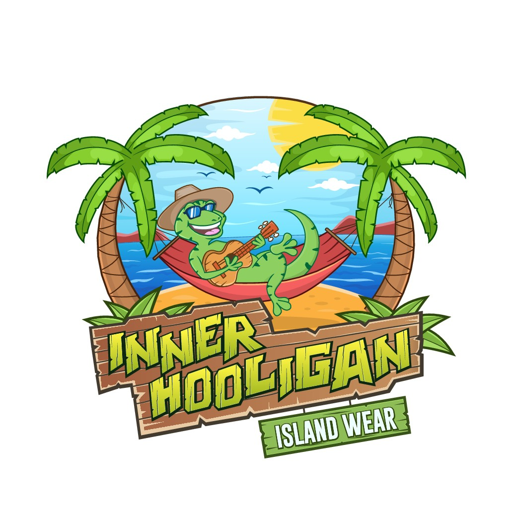 Design a hip 'Island' feel logo for Inner Hooligan Island Wear