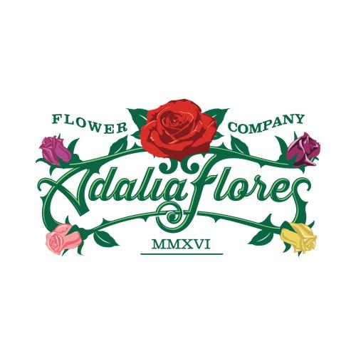 adalia flores logo