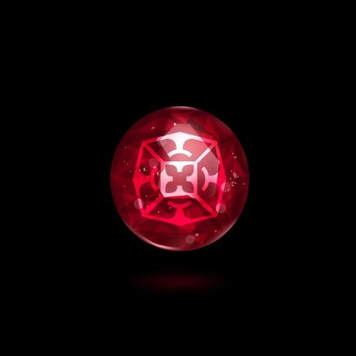 Logo design for a gem engraving business