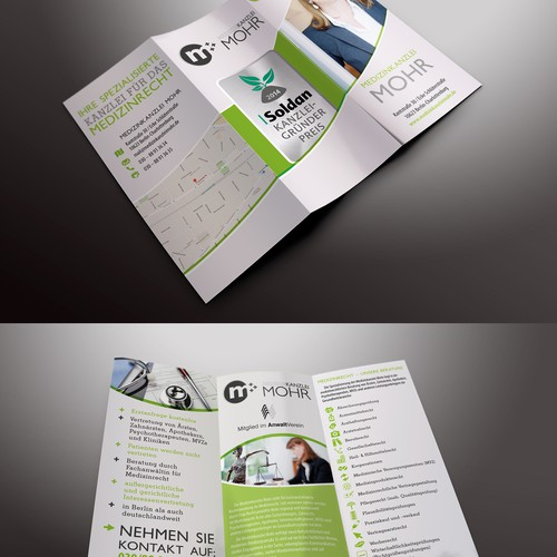 Brochure for law office