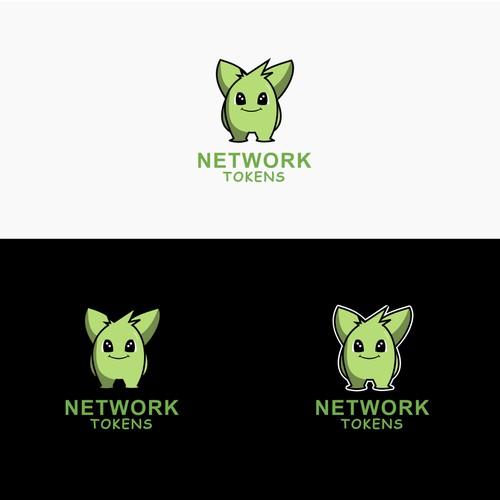 Network Tokens Logo Design