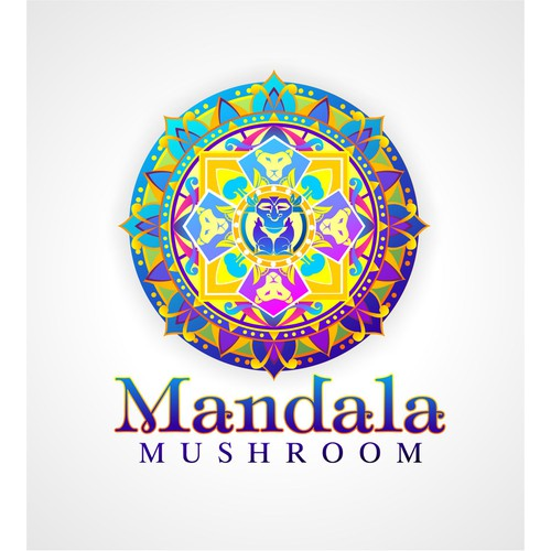Logo for Mandala Mushroom Ice Tea