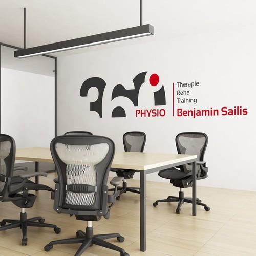 360° PHYSIO Logo Design