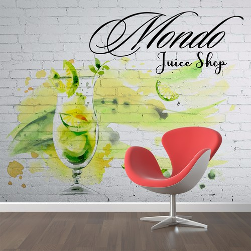 t Wall Sticker Design for brand Juice Shop
