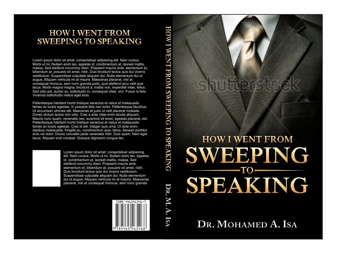 book or magazine cover for 3D Speaking
