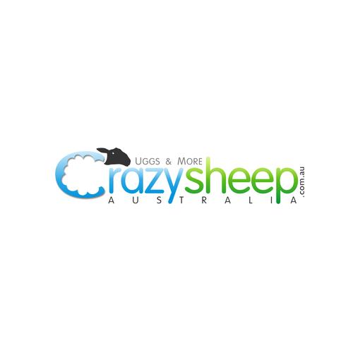 Logo for crazysheep.com.au