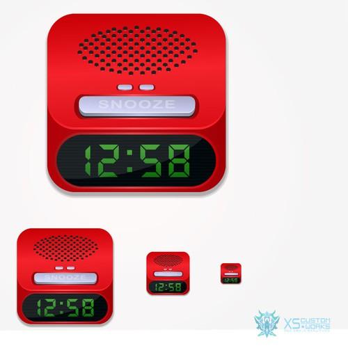 Alarm Icon Logo