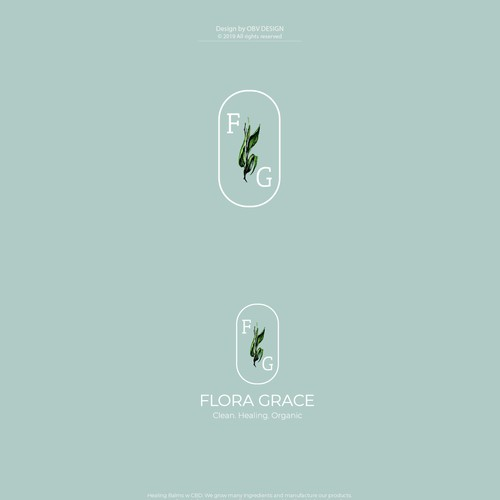 Fresh logo concept for the organic skincare brand. This idea didn't make the cut but I still love it :)