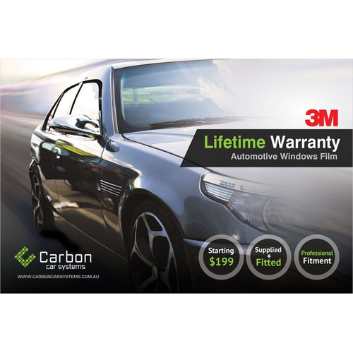 Help Carbon Car Systems with a new postcard or flyer