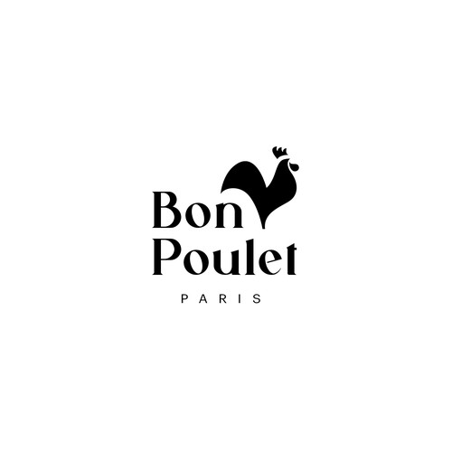 Logo concept for Bon Poulet