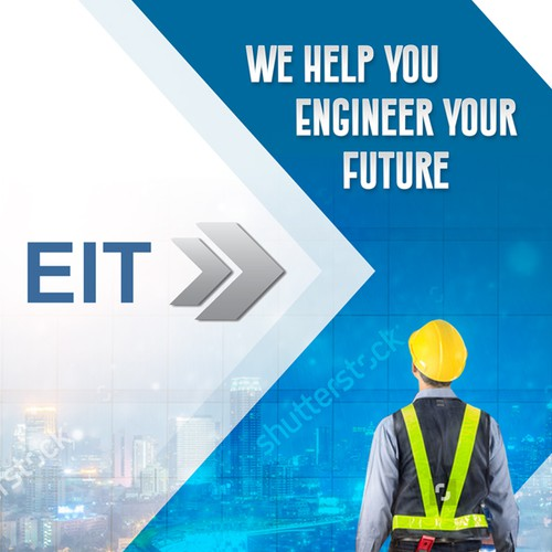 Eye-catching flyer design for EIT