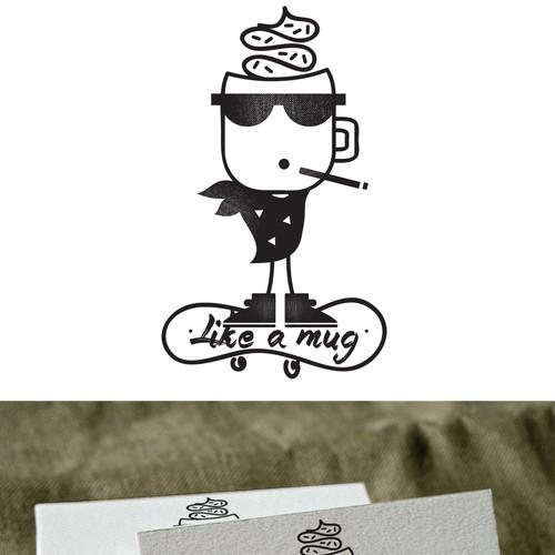 like a mug