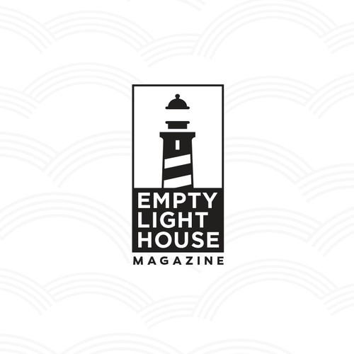 logo concept for Empty Lighthouse Magazine