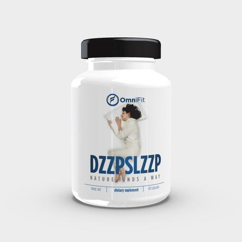 Bottle Label for DZZPSLZZP