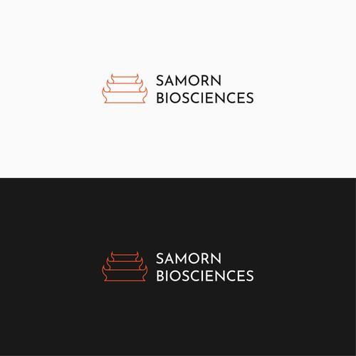 Logo concept for Samorn Biosciences