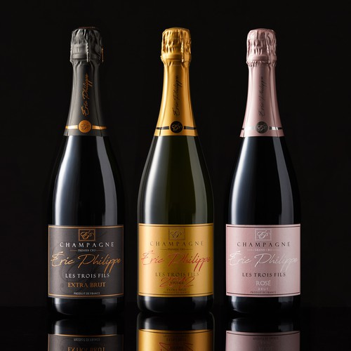 Eric Philippe champagne line