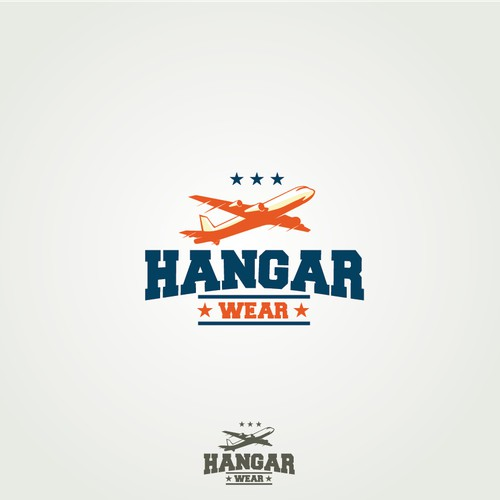 logo designs of Hangar Wear