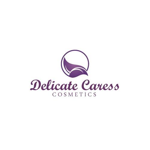 Create an Elegant Classy logo for Delicate Caress Cosmetics