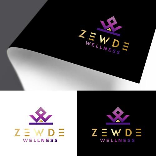 Logo design for ZEWDE wellness