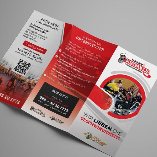 Hockey Brochure Design