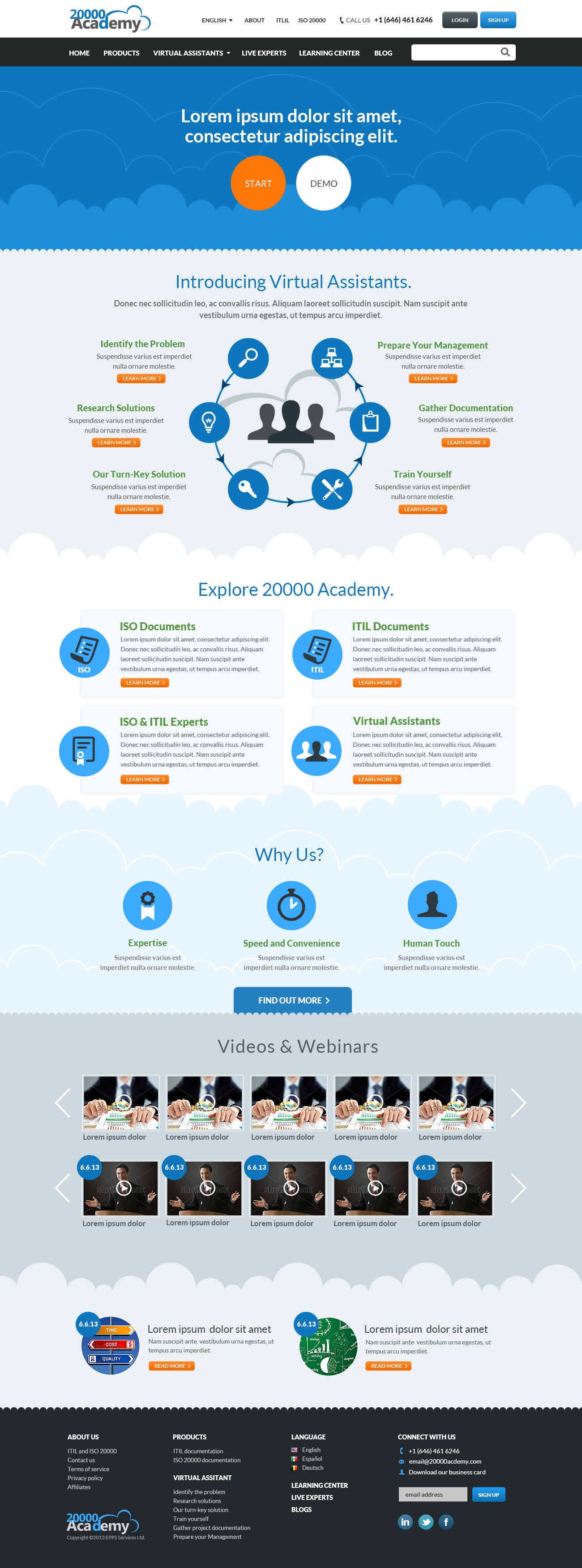 GUARANTEED: 20000Academy needs a cutting edge and fresh website design