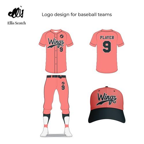 Logo Design for baseball teams