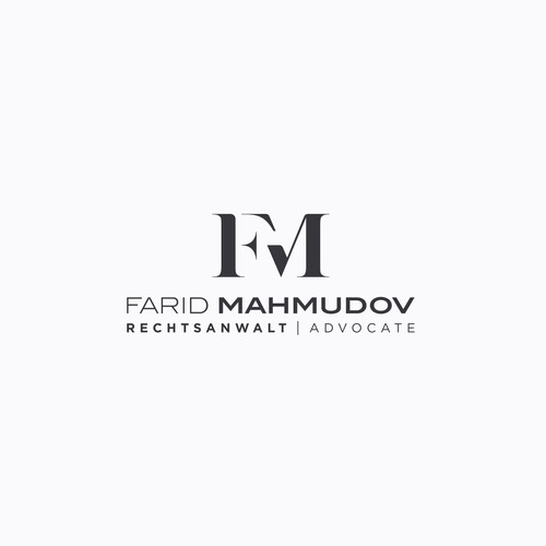 "Logo for Law Office ""FARID MAHMUDOV"""
