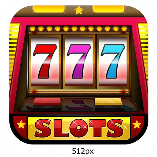 New icon or button design wanted for Slots Party - iPhone/iPad app