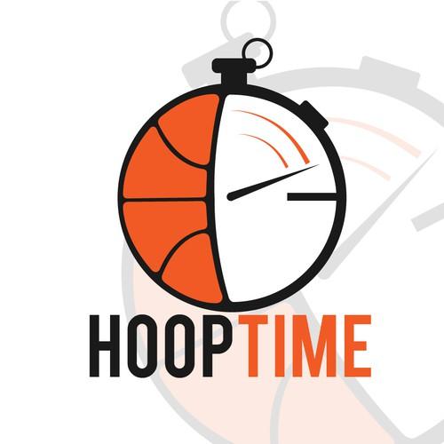 Clever Logo for Basketball Startup