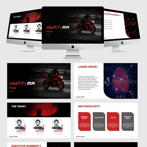 Consulting Company - PowerPoint template