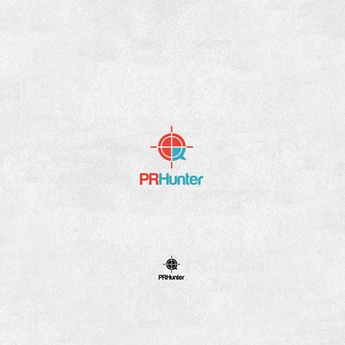 PRHunters Logo Design