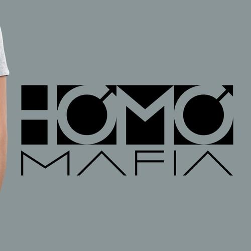 "YouTube personality needs ""Homo Mafia"" logo for channel & merch."