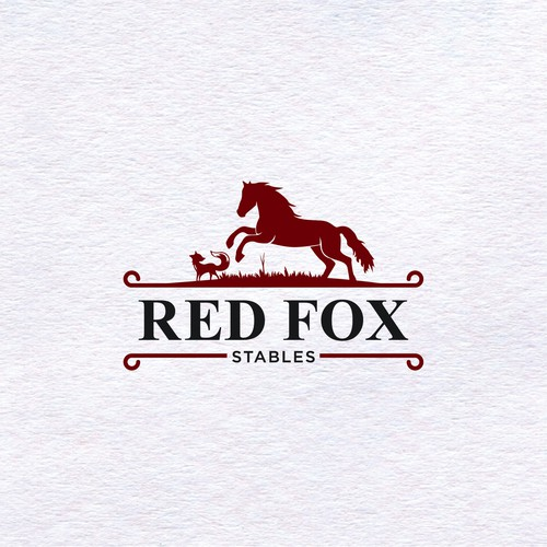 Red Fox Stables Logo