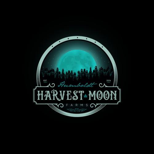 Logo concept for cannabis farm