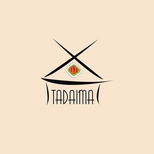 Logo design for sushi venture